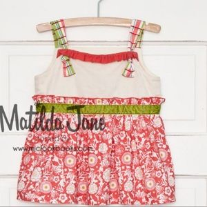 NWT/IB Matilda Jane Spice is Nice Knot Top